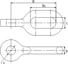 ZH型直角挂环